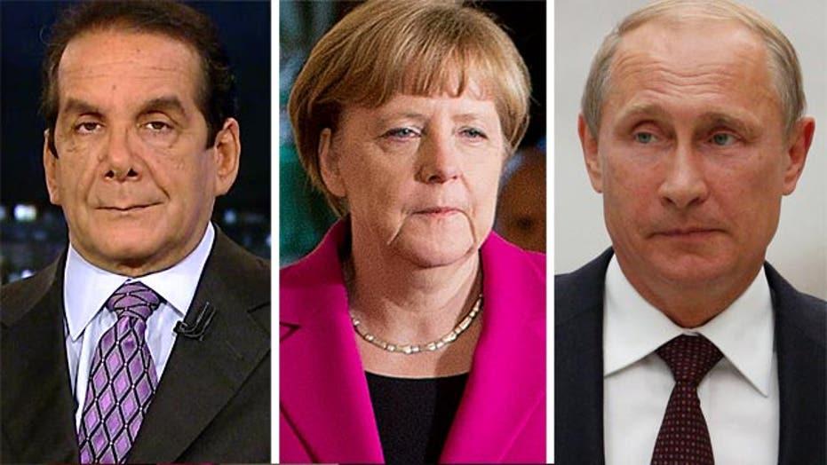 "Krauthammer: Europeans ""scared to death"" of Putin"