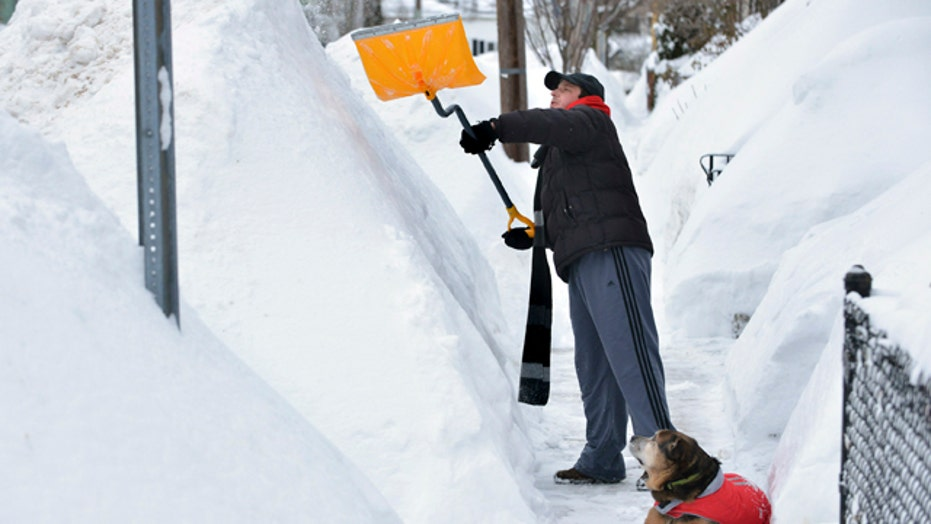 New England digging out of record setting snowfall