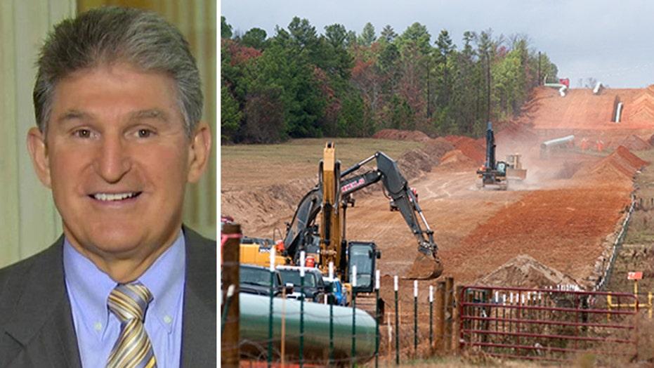 Sen. Joe Manchin on the Keystone pipeline fight