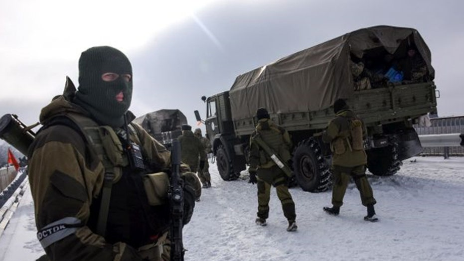 Russia warns the West: Arming Ukraine would be act of war