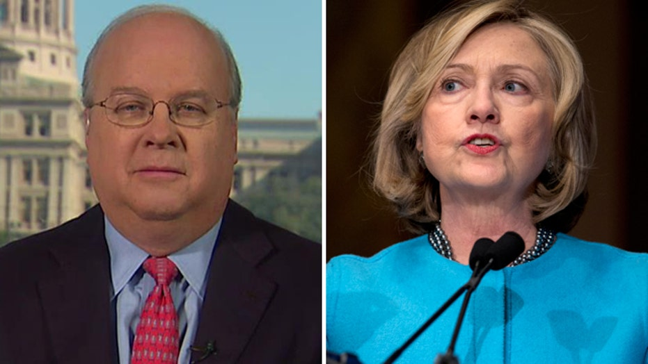 Rove on Hillary's delay: 'She's not ready for prime time'