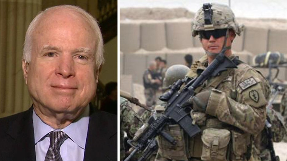 McCain: We are going to have to have US boots on the ground