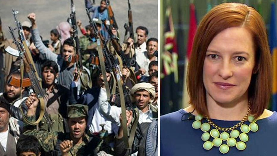 Jen Psaki addresses volatile situation in Yemen