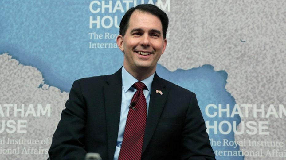 Gov. Walker emerging as early GOP presidential frontrunner