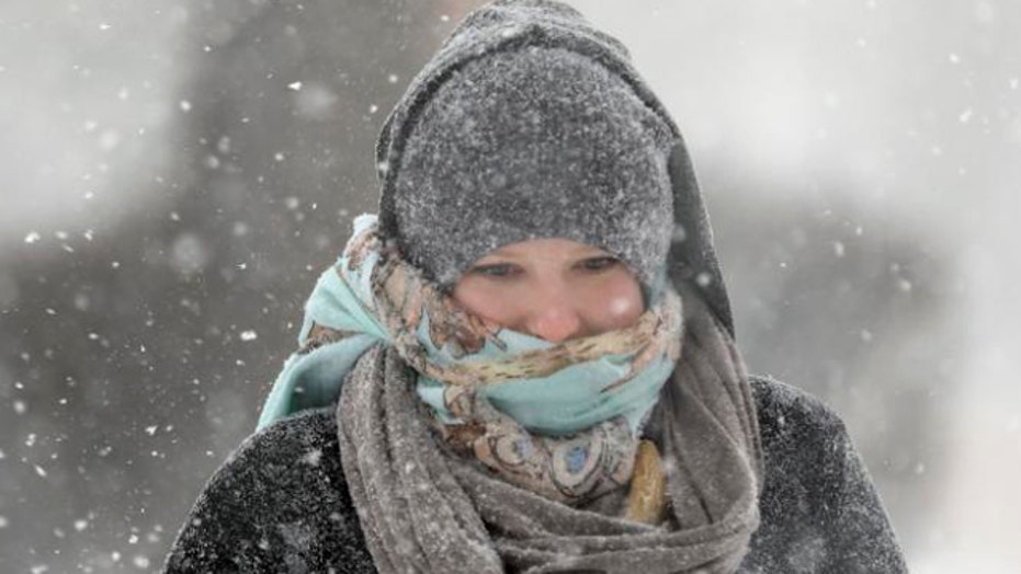 Deep freeze gripping parts of Midwest and Northeast