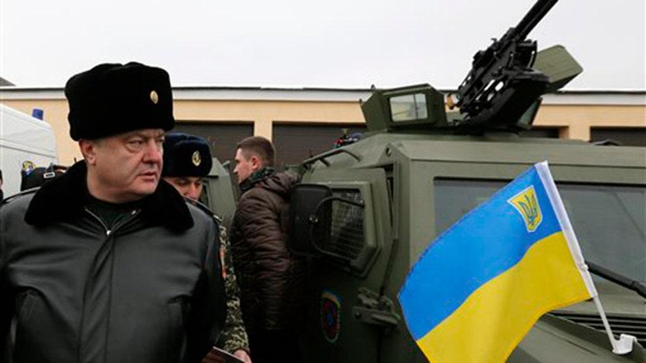 Ukraine cease fire underway