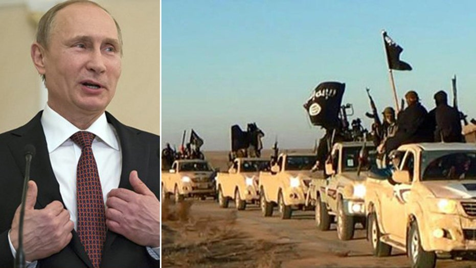 Russia spearheads new push to choke off ISIS funds