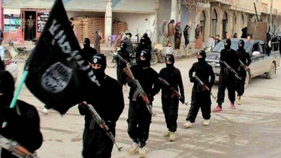 ISIS advancing in Iraq's Anbar province