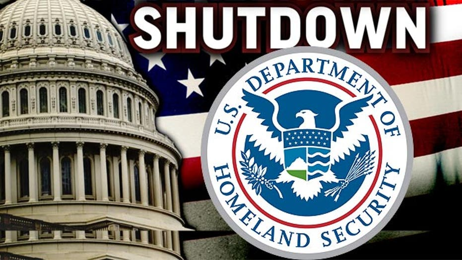 Reaction to DHS funding showdown