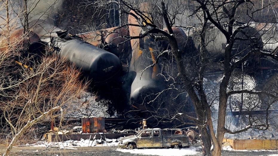 Train derailment sparks debate over rail safety standards