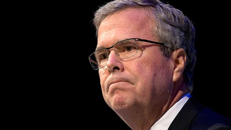 Jeb Bush blasts Obama's 'indecisive' foreign policy