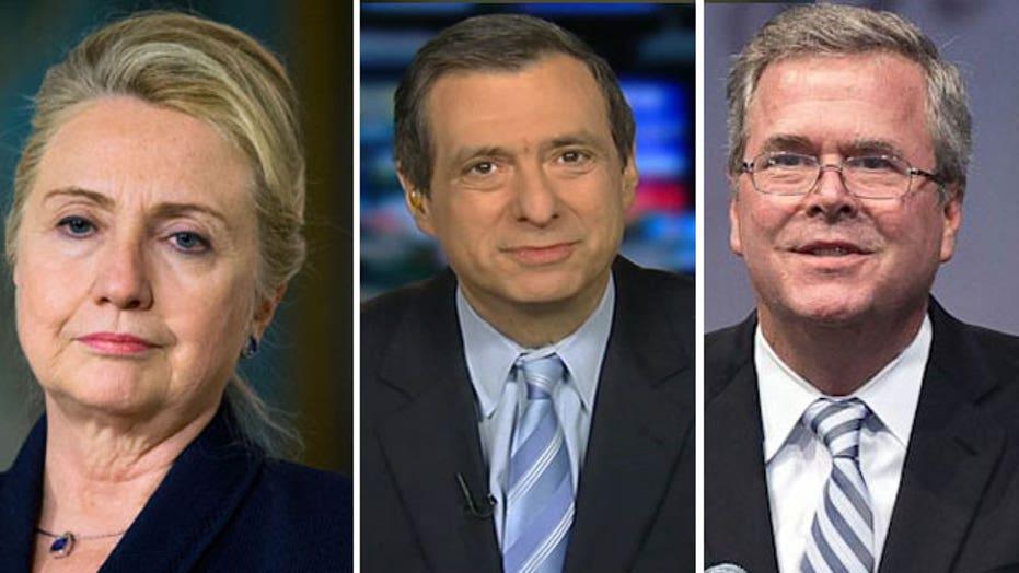 Kurtz: Jeb & Hillary, Ad Infinitum: Get used to it