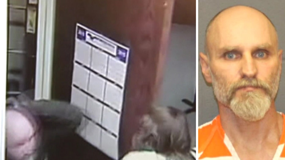 Inmate shocks woman after popping out closet in jailbreak