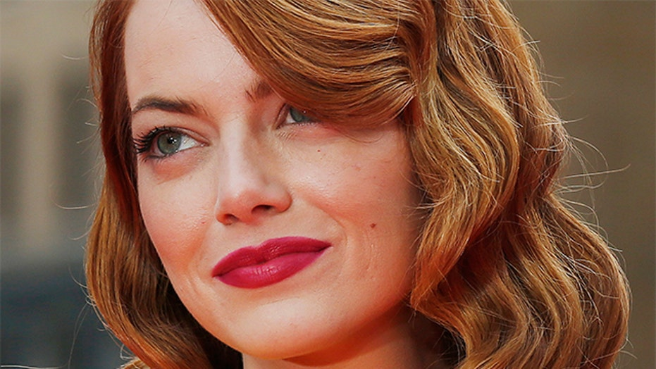 How to Get Emma Stone's Bold Red Lips