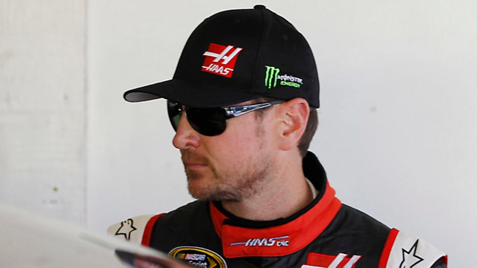 NASCAR suspends Kurt Busch over domestic abuse charges
