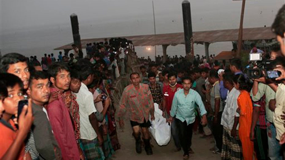 Ferry accident in Bangladesh results in at least 48 deaths