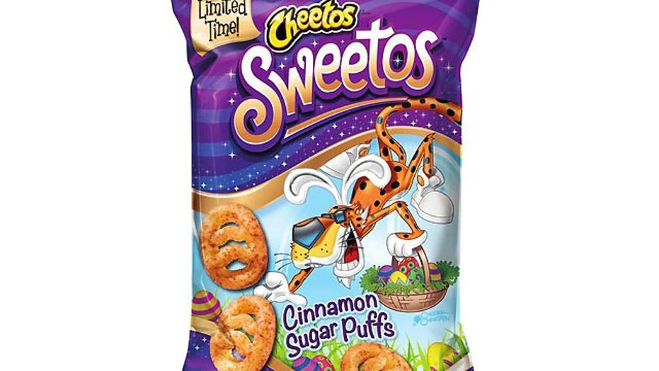 Cheetos with sweet side
