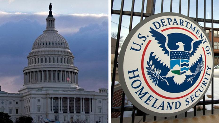 Deadline looming in DHS funding showdown