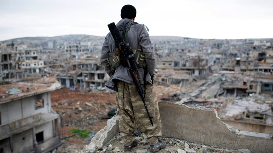 Syria: ISIS forces clash with Kurdish and Christian militia