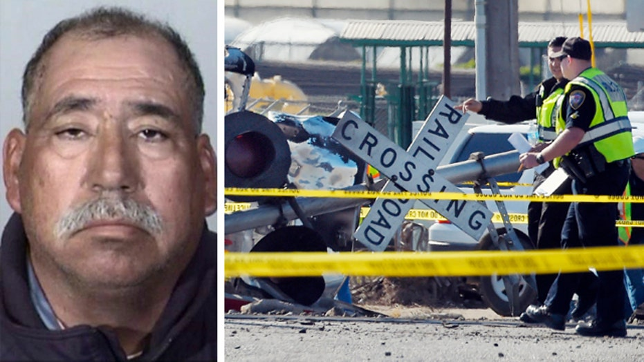 Pickup truck driver involved in CA train crash arrested