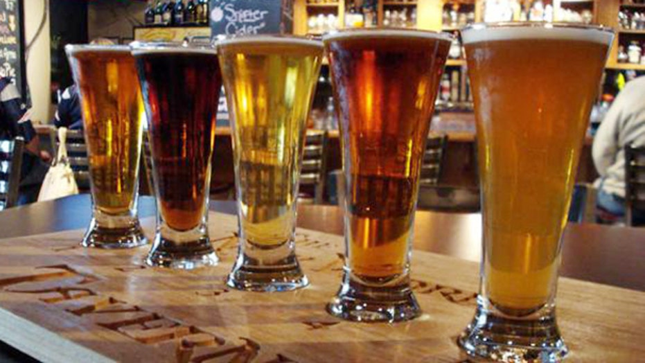 Beer battle foams over on Capitol Hill