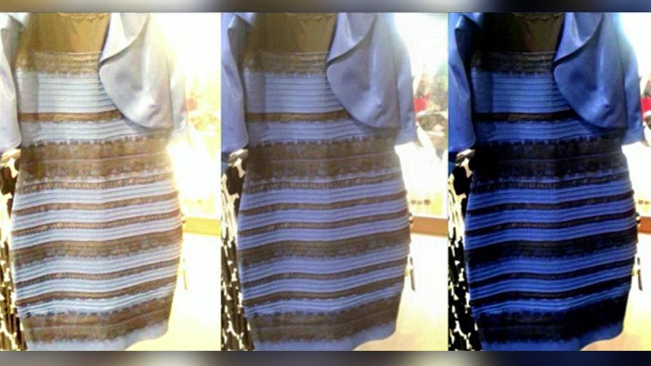 Debate over dress color burns up social media