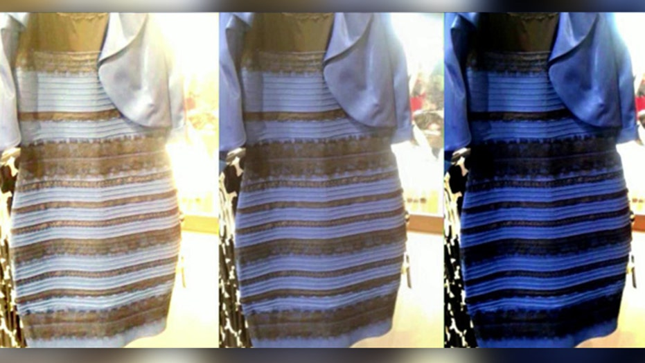Debate over dress color burns up social media