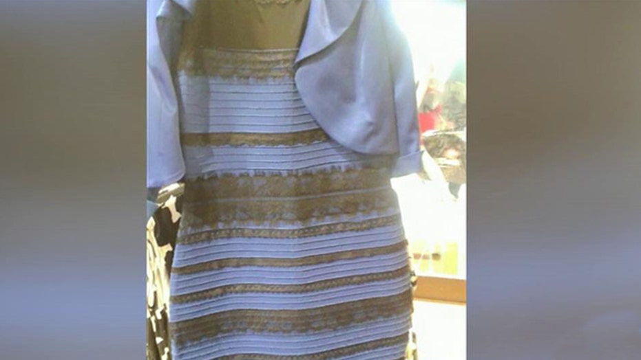 Dress debate: What color do you see?