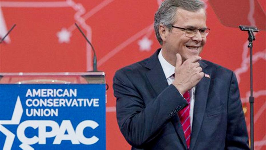 Jeb Bush talks immigration, Common Core at CPAC