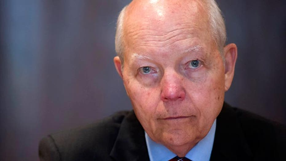IRS chief in hot water after recovery of 32,000 emails