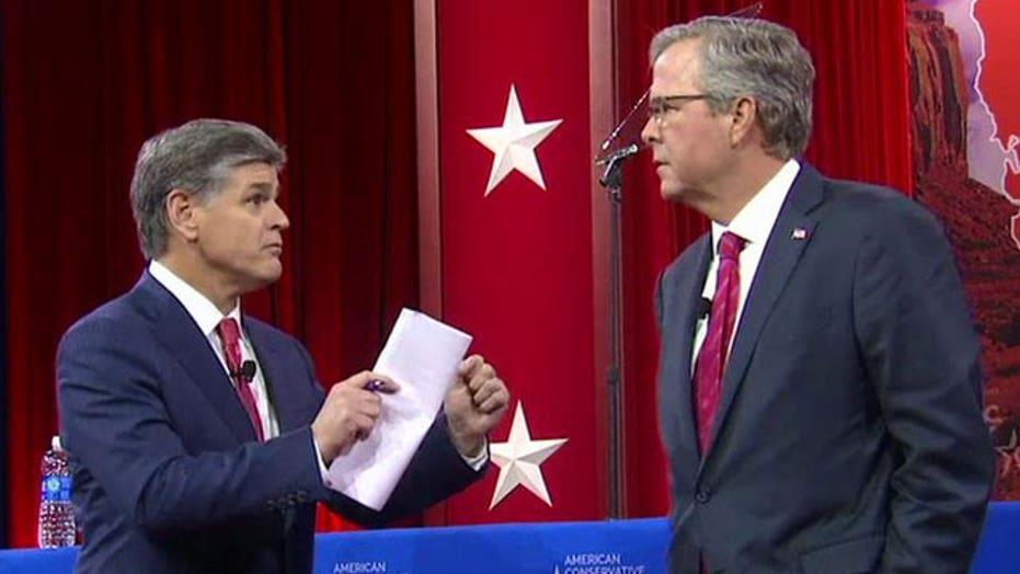Jeb Bush on importance of 'growing the economic pie'