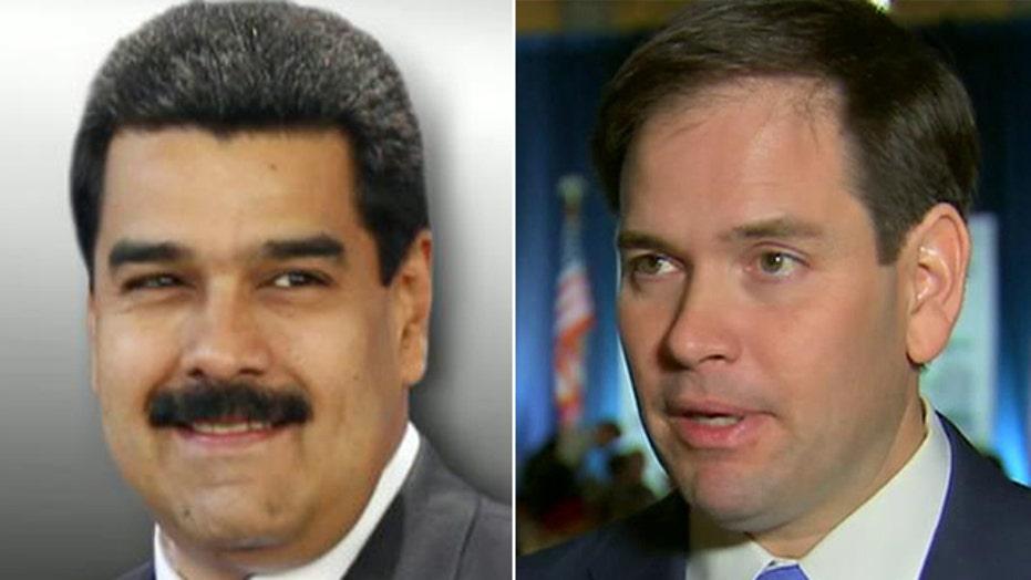 Rubio: Venezuela ban is 'badge of honor'