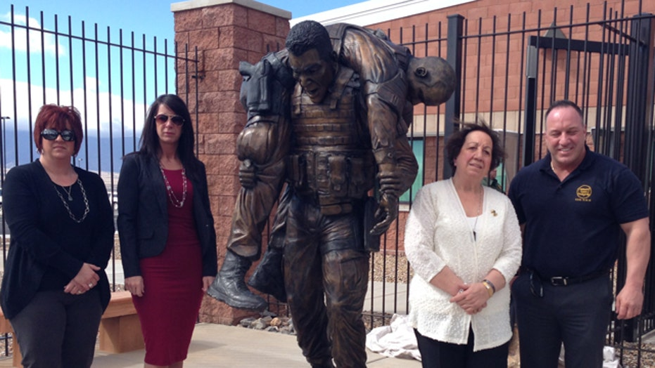 Statue of murdered Border Patrol Agent Brian Terry unveiled