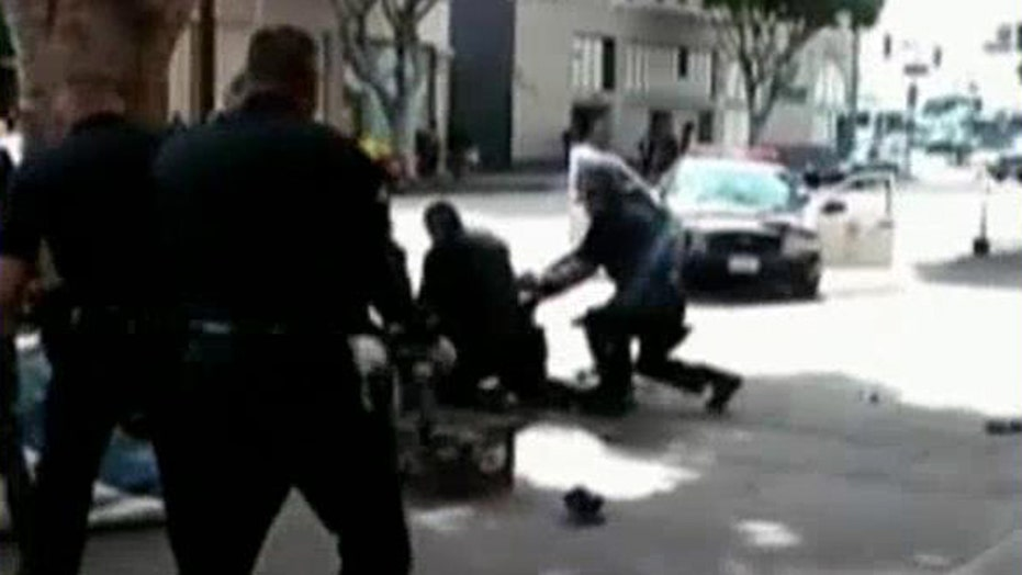 Homeless man shot and killed by LAPD