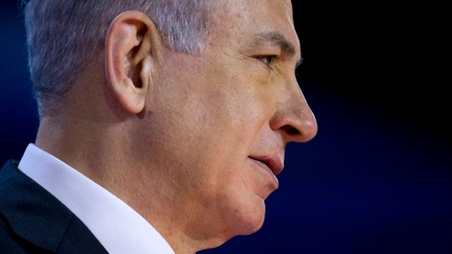 Israeli PM Netanyahu prepares to address Congress