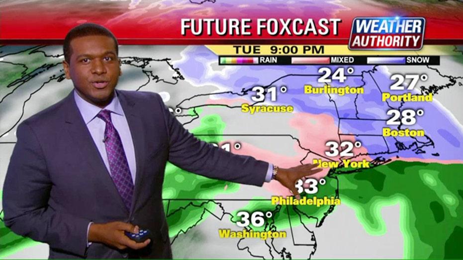 Wicked weather sweeps across U.S.