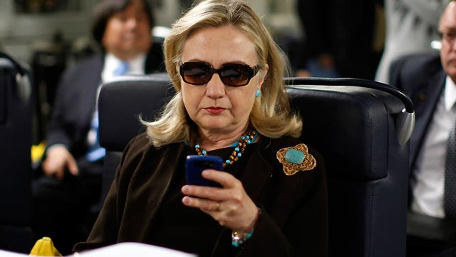 Hillary Clinton under fire for using personal e-mail