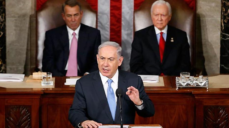 Netanyahu makes plea to Congress over Iran deal