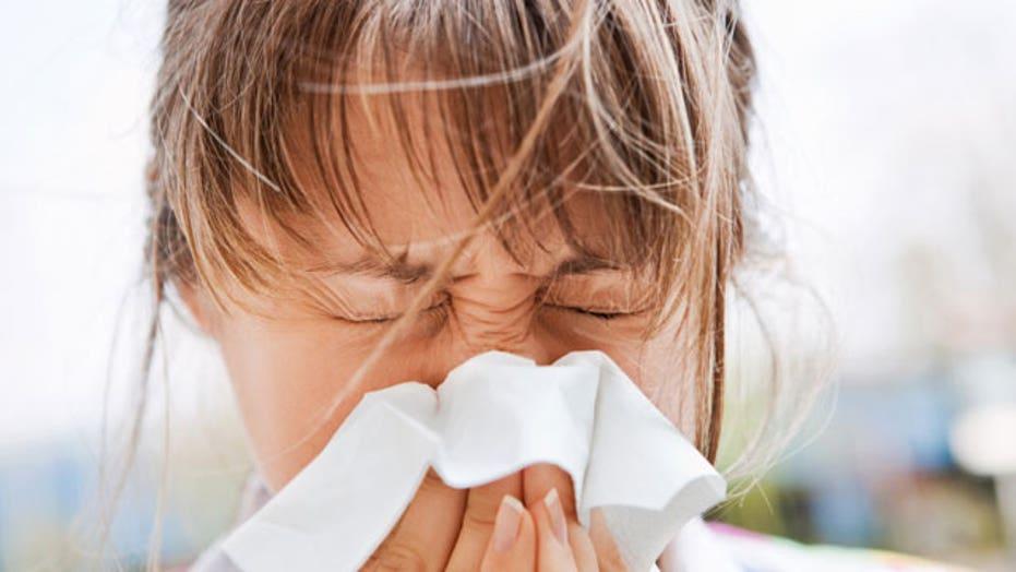 Allergy season comes early