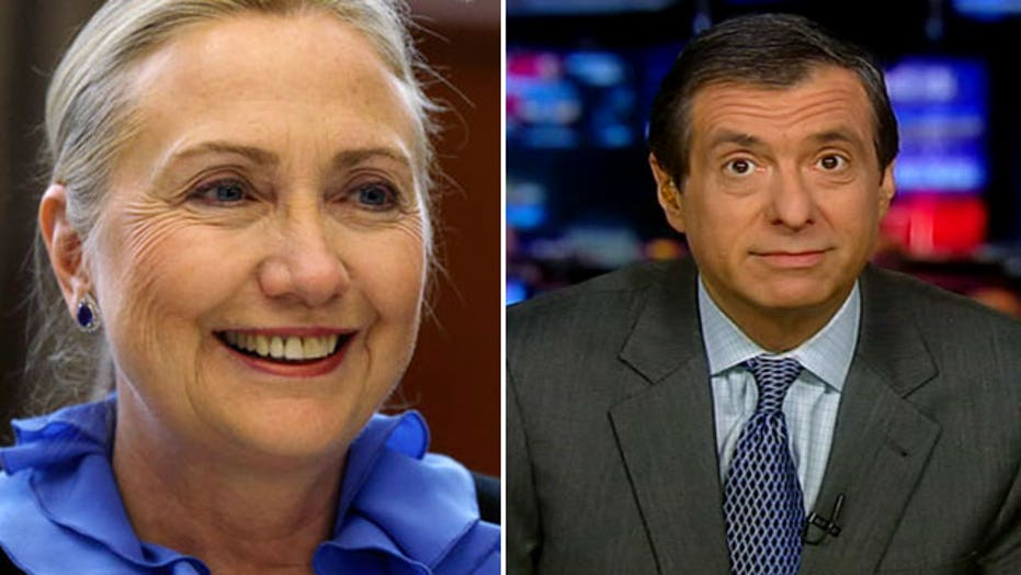 Kurtz: Media say run, Hillary, run!
