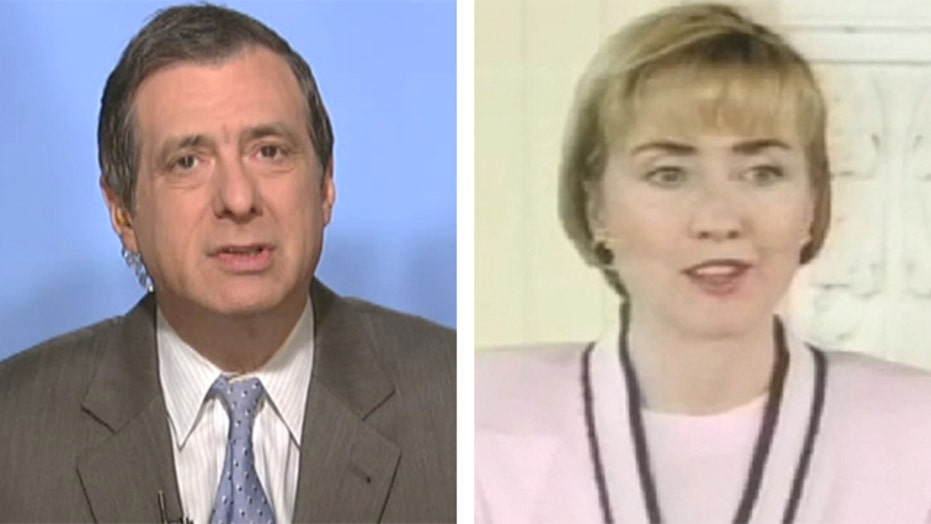 Kurtz: Hillary and the bad old days