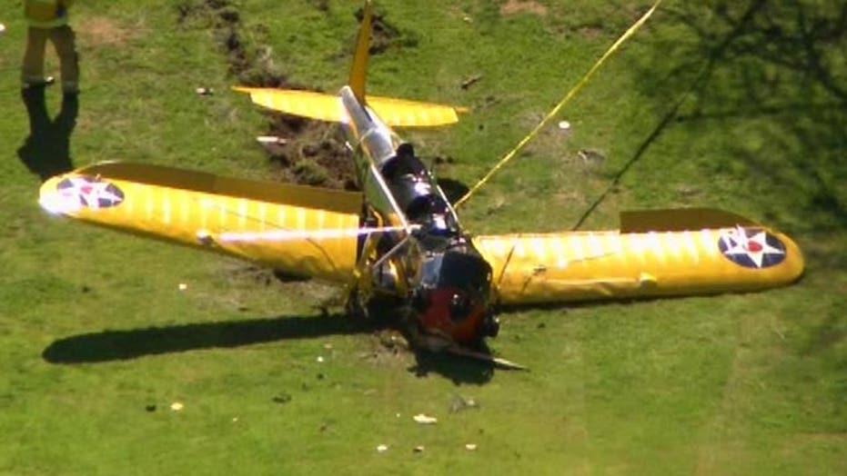 Harrison Ford reportedly injured in Calif. plane crash