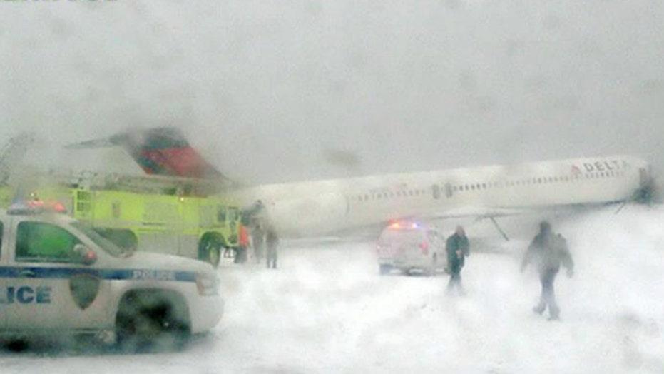 Passenger: Delta crash landing 'felt really hard and fast'