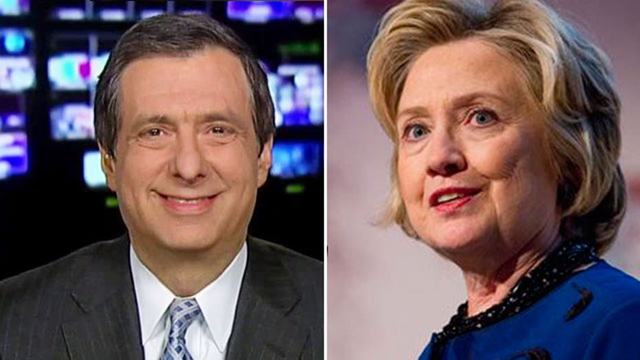 Kurtz: Hillary Clinton hopes media get bored
