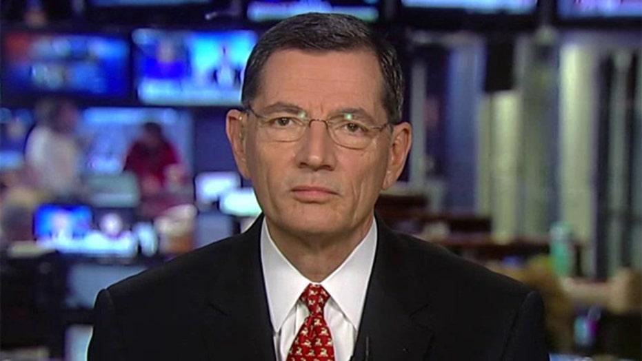 Sen. Barrasso on nuke talks, Clinton's emails, ObamaCare
