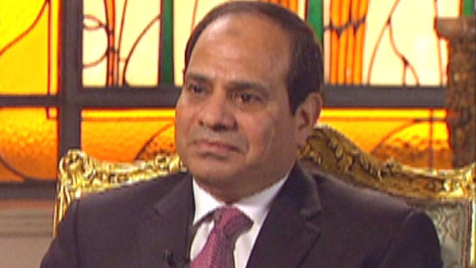 Preview of Egyptian president's 'Special Report' interview