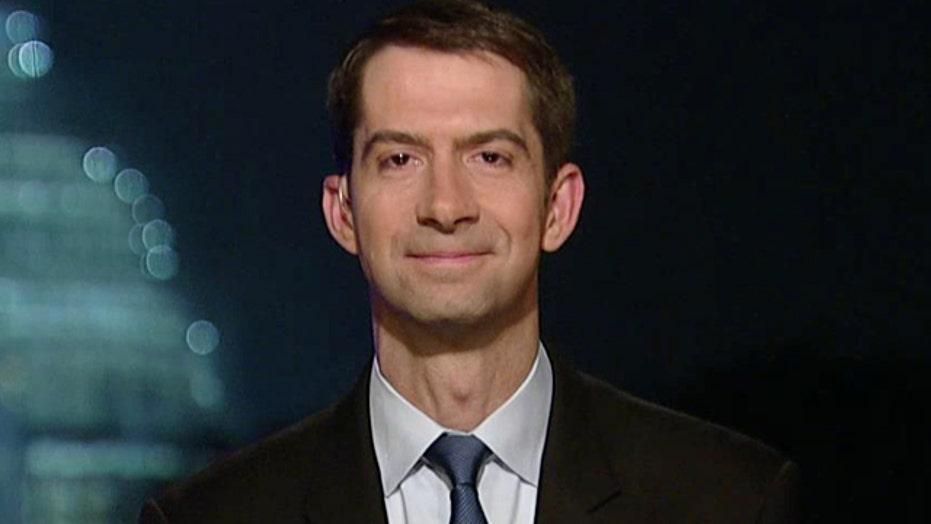 Sen. Tom Cotton responds to backlash over GOP letter to Iran