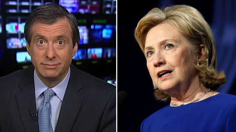 Kurtz: Hillary finally spars with the press
