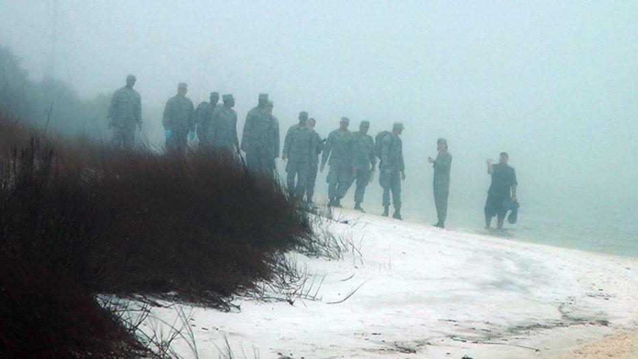 11 service members feared dead after chopper crash