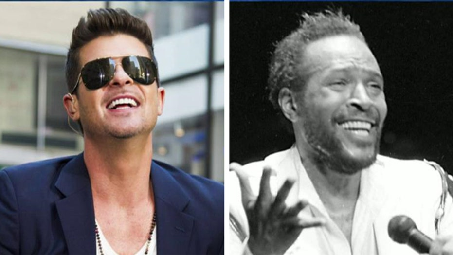 Jury rules 'Blurred Lines' plagiarized from Marvin Gaye song